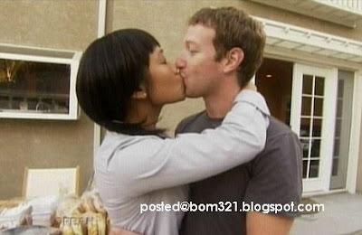 Gambar Mark Zuckerberg (Facebook) Dengan Teman Wanitanya Priscilla Chan !