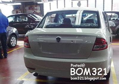 Proton Saga BLM Design Terbaru !