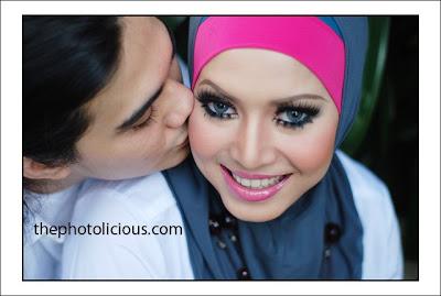 Gambar Romantik Bienda Dan Suami !