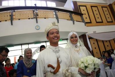 Gambar Perkahwinan Baizura Kahar