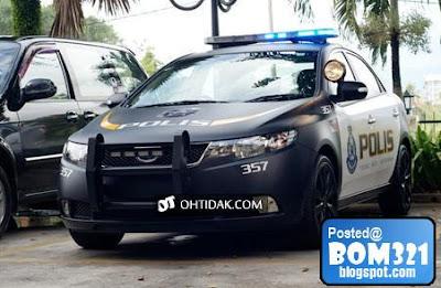 Kereta Baru Polis (PDRM) Naza Forte !