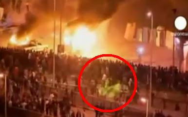 Rakaman Misteri Lelaki Berkuda Putih Di Rusuhan Mesir | Fourth Horseman Of The Apocalypse - Egyptian Riots  Video