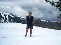 J in the Snow