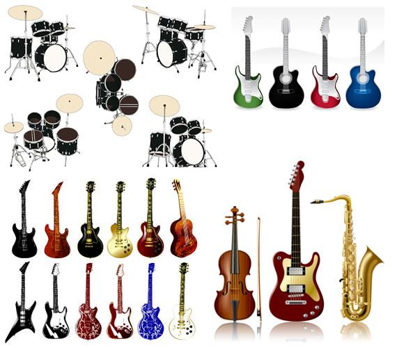 Pack de Instrumentos Musicales Vectorizados