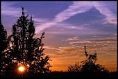 Un amanecer a la vera de la ruta N° 65
