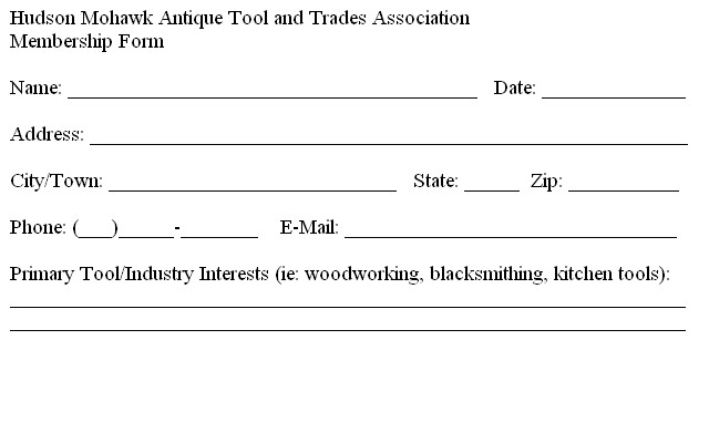 HMATTA Membership Form