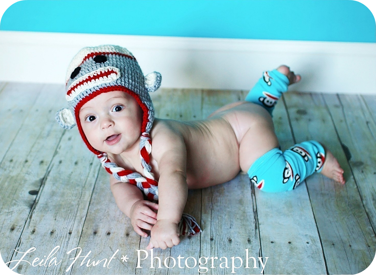 Filthy Rich Fashions: Sock Monkey Hat Crochet Pattern for Babies
