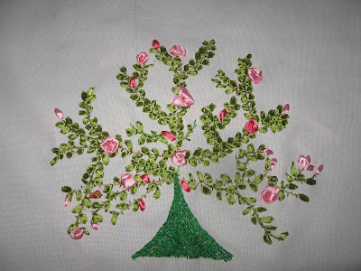 Brazilian Embroidery By Athiya Fassey Ribbon Work Tree