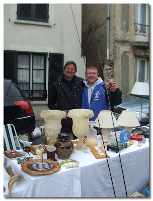 a brocante in jouarre france