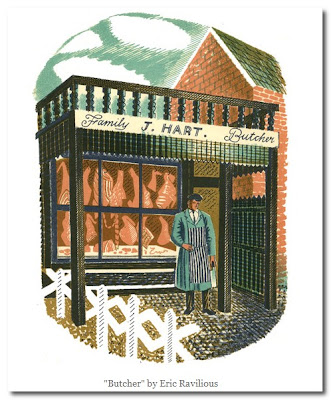 painting by Eric Ravilious