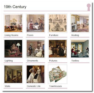Geffrye Museum thematics