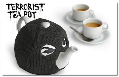 Terrorist Teapot suck UK