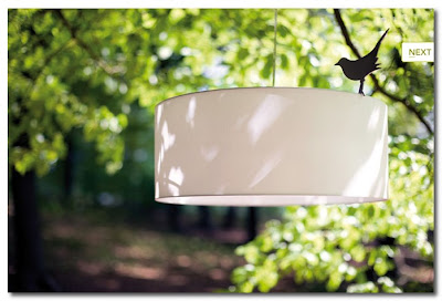 Starling Lamp by Marc Th. van der Voorn