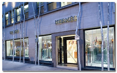 hermes flagship store london at christmas