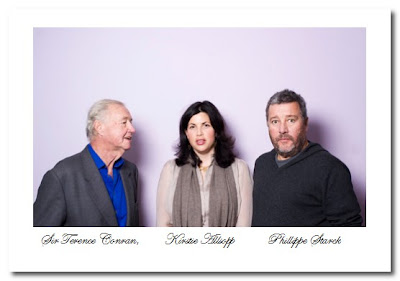 terence conran kirsty allsopp and Philippe Starck