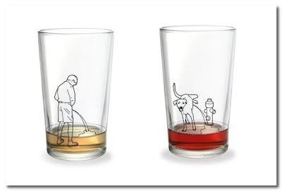 peeing glasses
