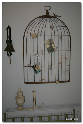 bird cage notice board