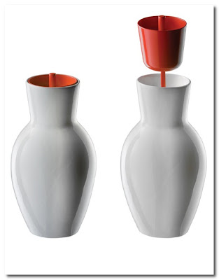 Antonio Gardoni - The 5 Collection toilet brush vase