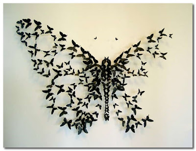 butterflies from beer cans paul villinski