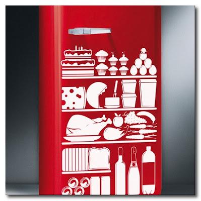 fridge sticker by hu2