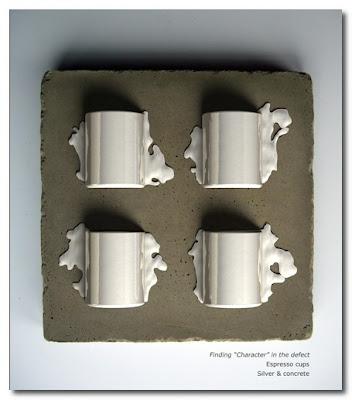 silver espresso cups rachev