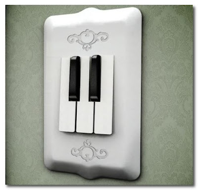 piano key light switch
