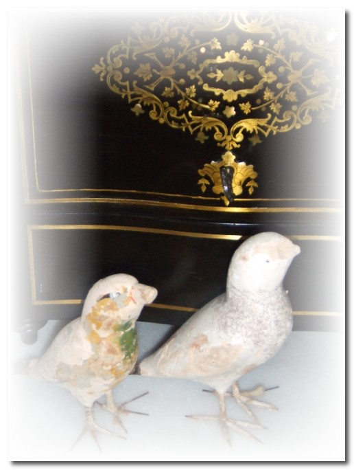 two little french birds