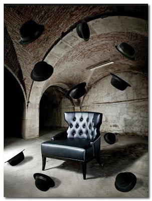 black leather chair munna design