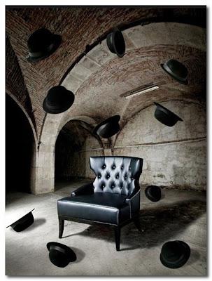 black leather chair munna design