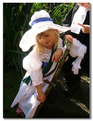 suffragette fancy dress for kids