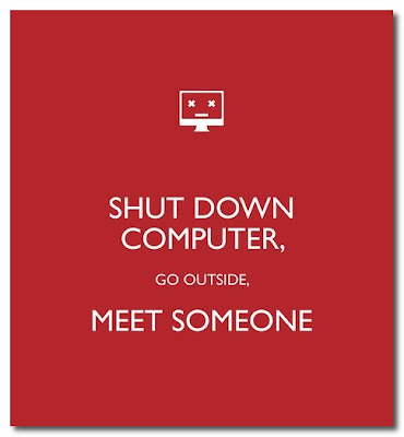 shut down your computer poster