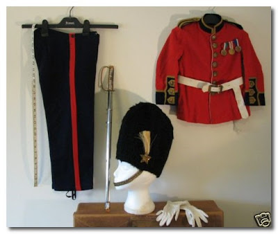Kid's Guards Uniform bought from Selfridges in the 1920s