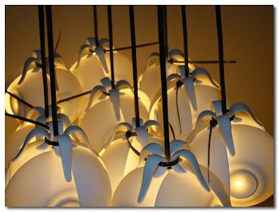 cup chandelier laura pregger