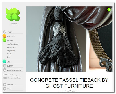 concrete ghost tassels on mocoloco