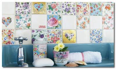 vintage tiles by Welbeck