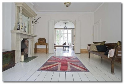 union jack in a fabulous home