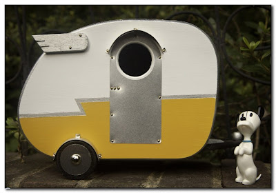 Vintage Camper Bird Houses