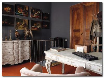 baroque desk