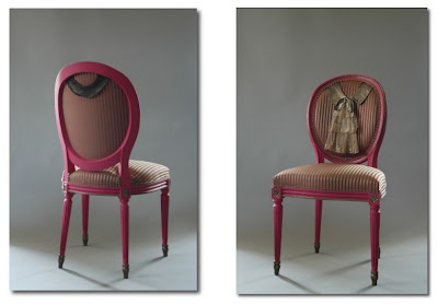 1920s collar chair ghost furniture