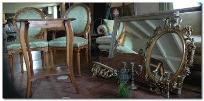 paris brocantes for ghost furniture