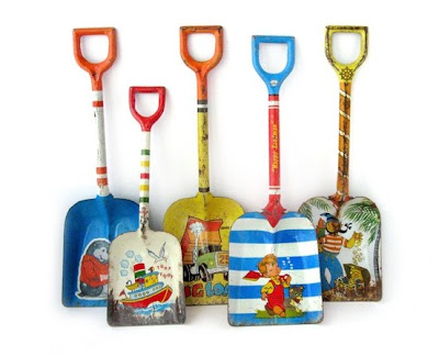 little tin shovels