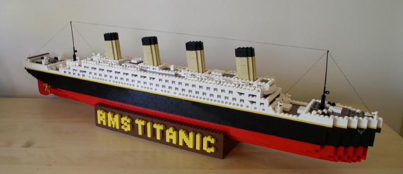 Lego titanic инструкция