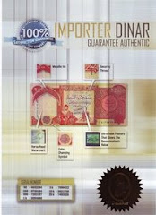 Sertifikat Keaslian Dinar Irak