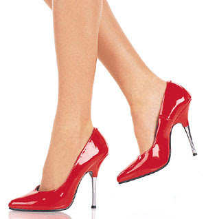 high heeled shoes