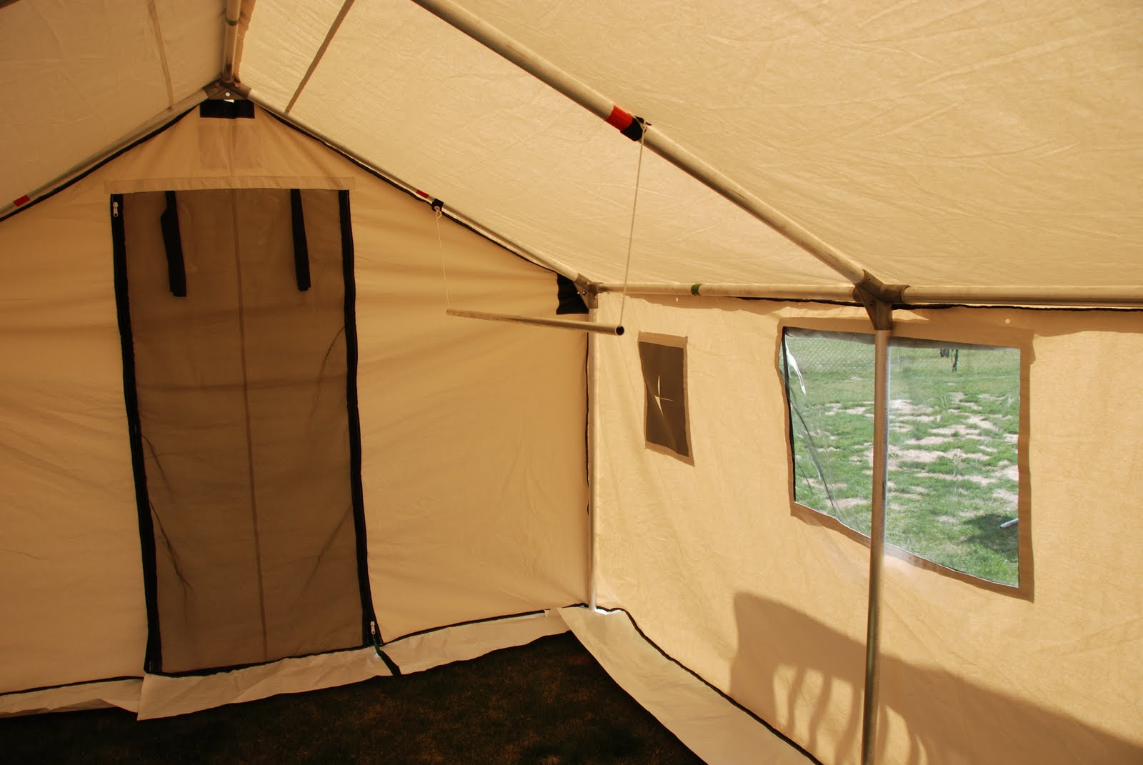 When my new wall tent from Deluxe Wall Tents showed up on Saturday I couldnu0027t wait to get it set up and check it out. Iu0027m sure the neighbours thought I was ... & Outdoor Quest TV Series: Like a Kid at Christmas