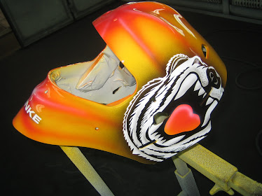 hockey mask...