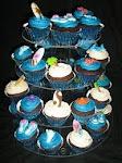 sea shore cupcakes