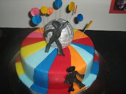 70s disco cake 6.2.10