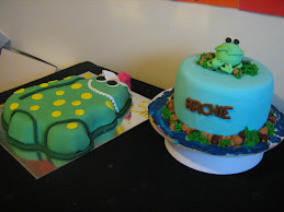dorothy and frog cake 22/9/09