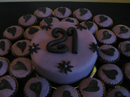 21st cupcakes 3.9.09